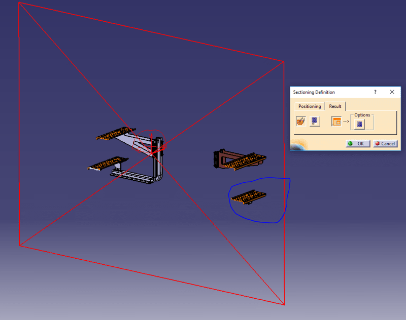 Catia Assembly sectioning view - DASSAULT: CATIA products