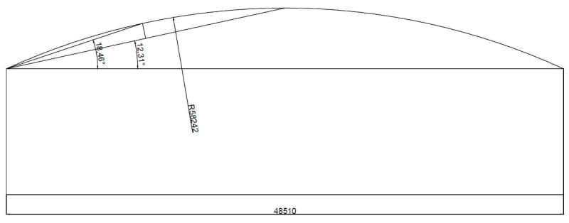 DLR according to Appendix F API STD 650 - Storage tank