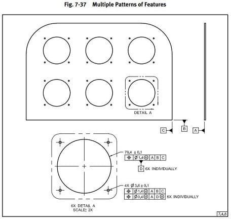 How to dimension multiple patterns on drawing  - Drafting