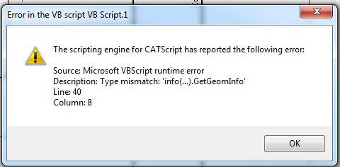 Code from VBA to VBScript - DASSAULT: CATIA products - Eng-Tips