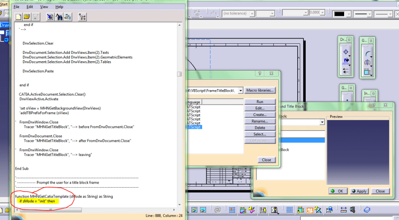 Title block automation - DASSAULT: CATIA products - Eng-Tips