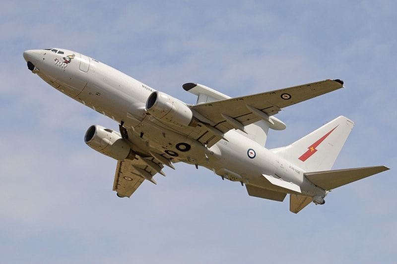 "- new unused big size 3/"" x 8/"" 2 BOEING 757 sticker decal lot full body RARE"