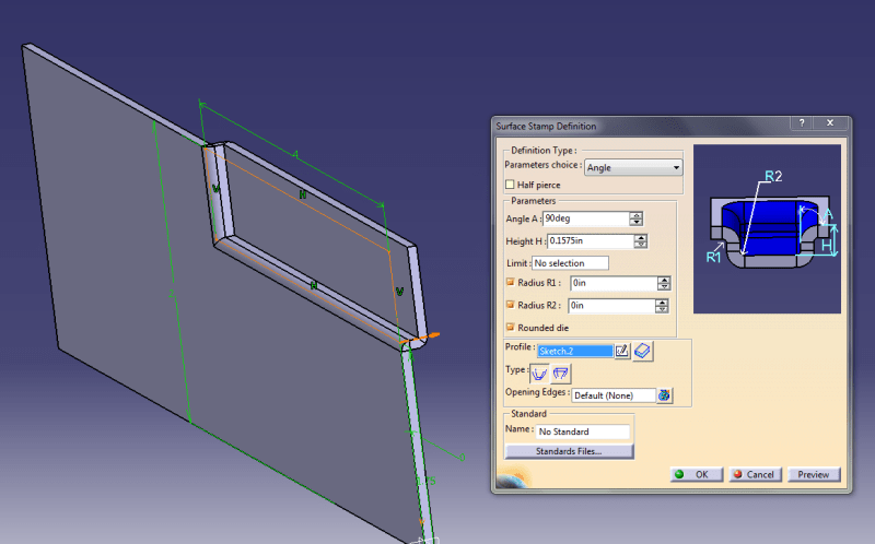 How to model this Joggled sheet in Catia V5 Sheet Metal