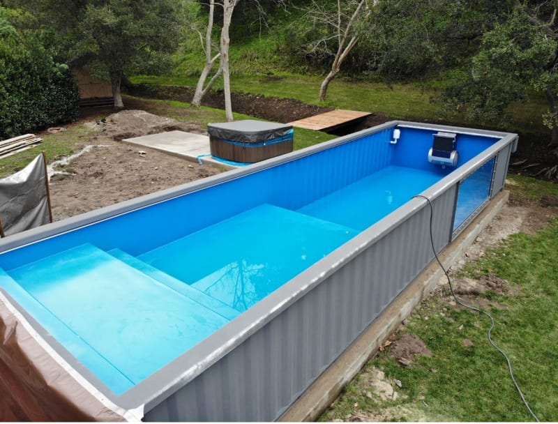 Anchoring at Grade Residential Swimming Pool to Foundation ...