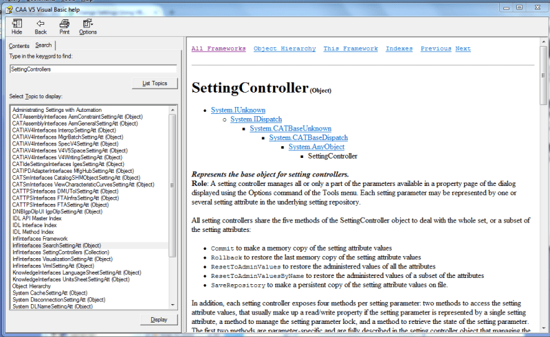Change Settings Using VBA - DASSAULT: CATIA products - Eng-Tips