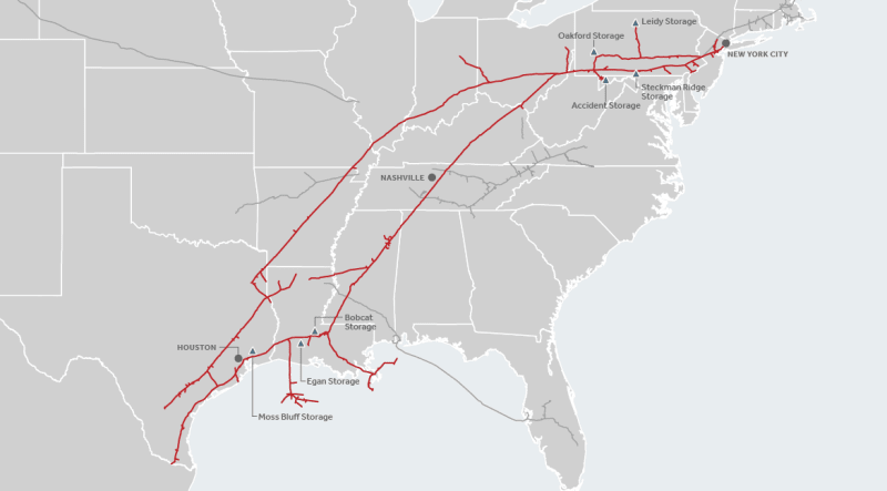 Kentucky Explosion Enbridge's Texas Eastern Line
