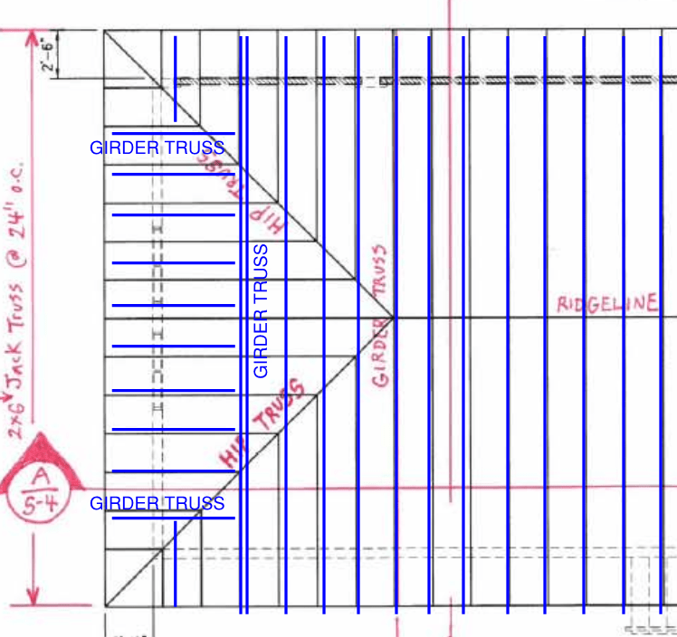 Roof Framing Layout Structural Engineering General Discussion Eng Tips