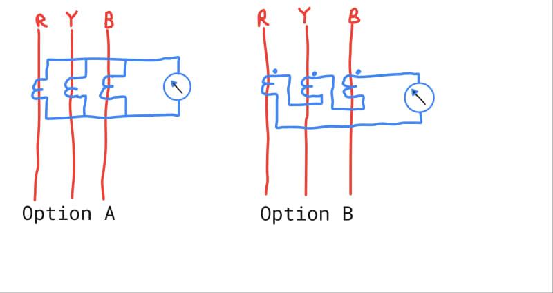 Correct Zero Sequence Wiring