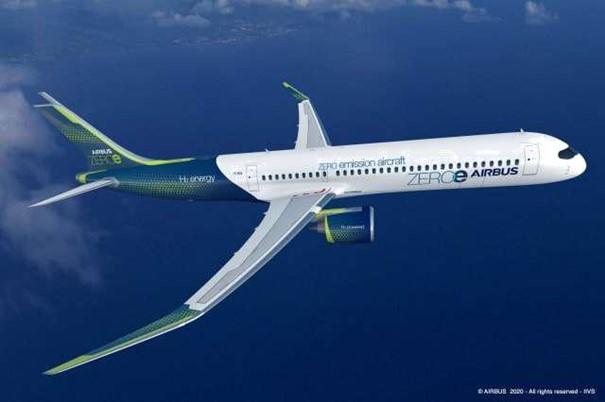 Airbus enthüllt originelle neue Nullemissionskonzepte