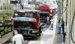 Volkswagen owned Scania is known for its tailor-made vehicles and modularized production methods.