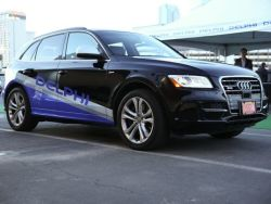 Tier One supplier Delphi has an Audi-based prototype capable of cross country autonomous driving
