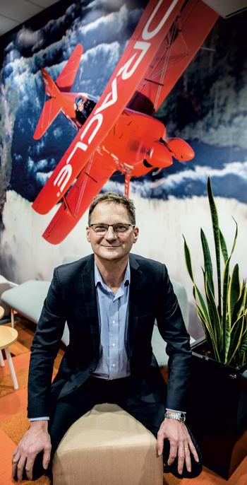 ENGINEERING.com met with Oracle's Swedish CEO, Carl Frögelius. (Image by: Bosse Johansson)