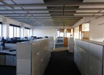 The empty FRAMOS office after lock-down.