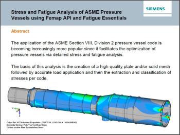 ASME Simulation Analysis for Pressure Vessels > ENGINEERING com