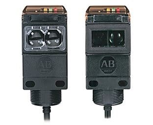 Allen-Bradley Series 9000 Diagnostic Sensors provide both a visual and electrical indication of a dirty lens condition.