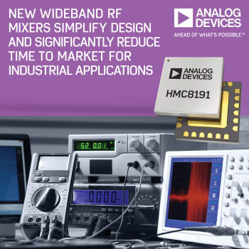 Electronics Weekly – Analog Devices RF Mixers, TI Wave