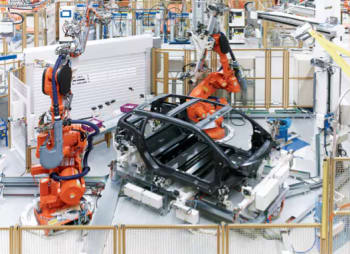 Manufacturing BMW's i-Series. (Image courtesy of BMW Group.)
