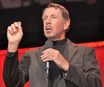 Oracle's President and CEO Larry Ellison is known for his larger than life personality and brash statements about competitors, traits that seem to have permeated all layers of the company.