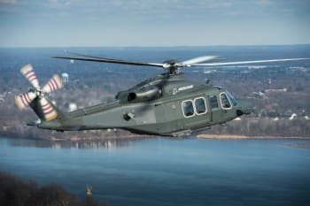 The MH-139 helicopter, Boeing's bid to replace the venerable UH-1N Huey. (Image courtesy of Boeing.)