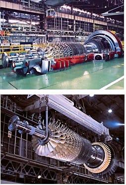 F-series gas turbines. (Image courtesy of MHPS-AMER.)
