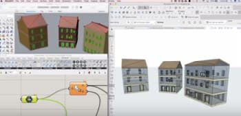 GRAPHISOFT's Live Connection tool allows real-time collaboration between ARCHICAD BIM software and the Grasshopper algorithmic design environment.