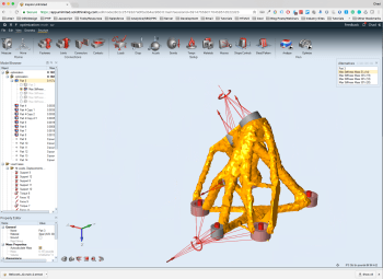 See everything looks the same. No need to panic. It's still the Inspire you're used to for topology optimization. (Image courtesy of solidThinking.)