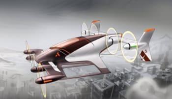 Vahana flying taxi. (Image courtesy of Airbus.)