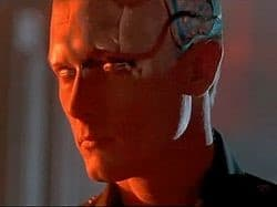 The T-1000 shape-shifting assassin from Terminator 2. (Image courtesy of Wikimedia Commons.)