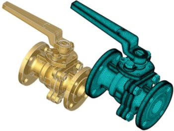 A valve mesh created by Spatial. (Image courtesy of Business Wire.)