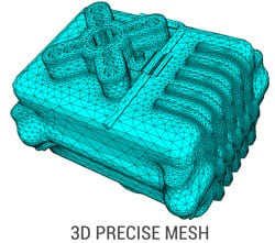 3D Precise Mesh created by Spatial. (Image courtesy of Spatial Corp.)
