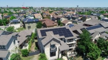 Stanford scientists found and analyzed 1.47 million solar rooftop installations in the United States, a much higher figure than generally estimated. (Image courtesy of Stanford.)