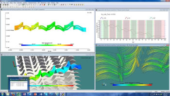 Simulation results from Agile Engineering Design System. (Image courtesy of Concepts NREC.)