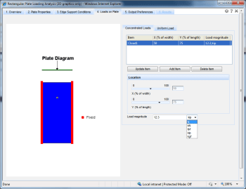 Plate structural simulation app. (Image courtesy of EASA.)