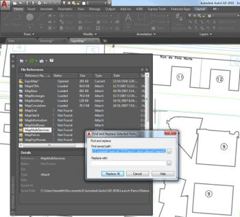 The Find and Replace functionality being moved into core AutoCAD (Image courtesy of Autodesk.)