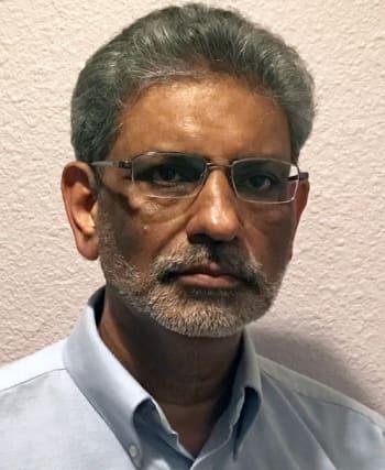 Computer Science, Robotics and CAD teacher; Mr. Prakash 'Jad' Jadeja. (Image courtesy of DSHS.)