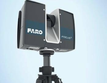 A FARO Focus 3 3D Scanner. (Image courtesy of Faro Technologies.)