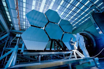 The enormous mirrors of the James Webb Space Telescope will unlock even deeper reaches of out Universe's history.