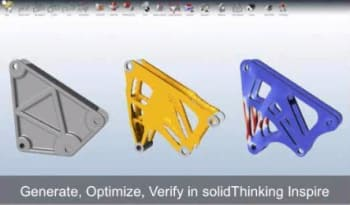 Simulation-based optimization is often thought of in early development like topology optimization. However, simulation can optimize all stages of a product's development. (Image courtesy of Altair.)