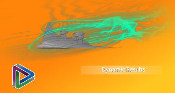 Can ANSYS Discovery Live perform turbulence simulations? Yes. Will you be told the model being used? No. This limits the results to offering engineers more direction than exact numbers. (Image courtesy of ANSYS.)