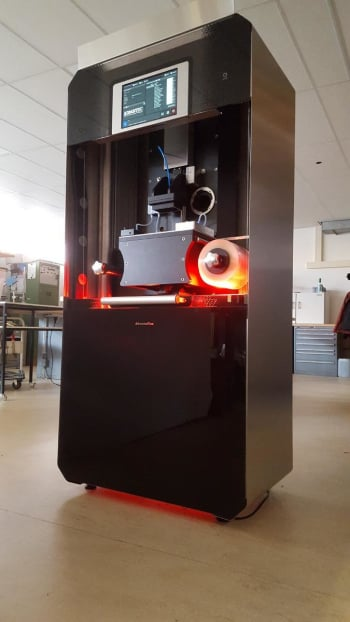 The ADMETALFLEX 3D printer from Admatec. (Image courtesy of Admatec.)