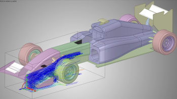 ANSYS Discovery Live shows a lot of potential to bringing new users to Simulation thanks to its ability to display results rapidly so that users can observe trends. However, will it meet the requirements of seasoned engineers? (Image courtesy of ANSYS.)