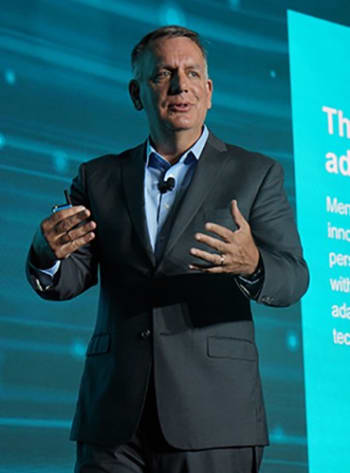 THE LEADING SMART FACTORY PLAYER. Siemens Digital Industries' PLM chief, Tony Hemmelgarn, has invested heavily in complementing the company's platform solutions to create the market's broadest and most efficient platform for product development. Among the most important acquisitions in recent years is Mentor Graphics, and the low-code platform Mendix.