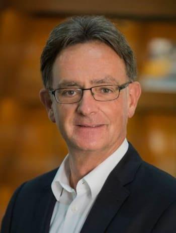 Siemens' Jan Leuridan, senior VP.
