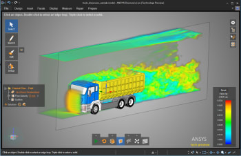 The release of ANSYS Discovery Live turned a lot of heads in 2017. What should we expect from simulation in 2018? (Image courtesy of ANSYS.)