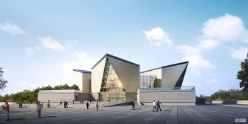 With large-scale building projects like the Panzhihua Three-line Construction Museum, an EIR helps stipulate information requirements and data drop timing. (Image courtesy of the Sichuan Provincial Architectural Design and Research Institute.)