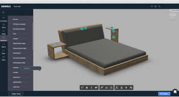 Seebo's IoT Creator helps engineers assign IoT functions and where they will be integrated into the design. (Image courtesy of Seebo.)