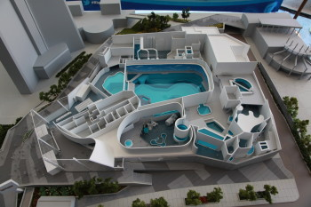 A scale model of Ripley's Aquarium of Canada in Toronto illustrates the complexity of the facility's design. (Image courtesy of Ripley Entertainment Inc.)
