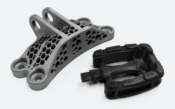 3D printed parts. (Image courtesy of Xometry.)