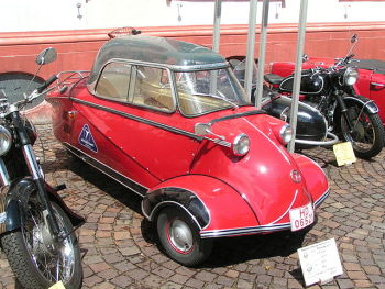Messerschmitt Kabinenroller. (Photo by Stefan Kühn.)