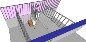 How can designers bring their 3D designs to the construction site? Augmented reality may play a role. (Image courtesy of Bentley Systems.)